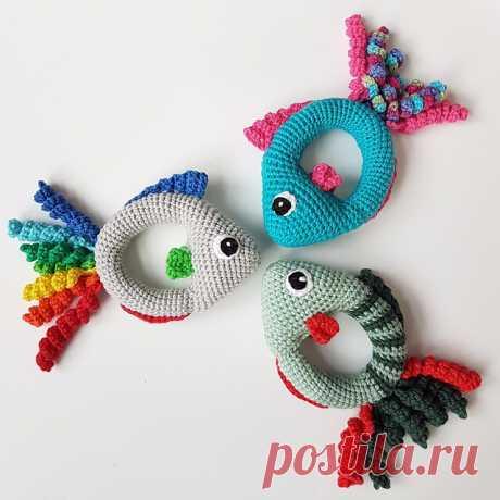 рыбки-погремушки