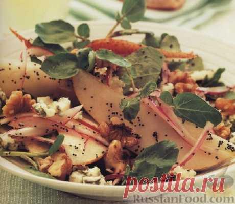 Рецепт: Грушевый салат