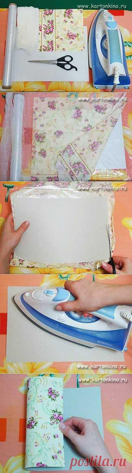 Как всего за 10 минут превратить обычный картон в дизайнерский ' Волшебный мир Алиши