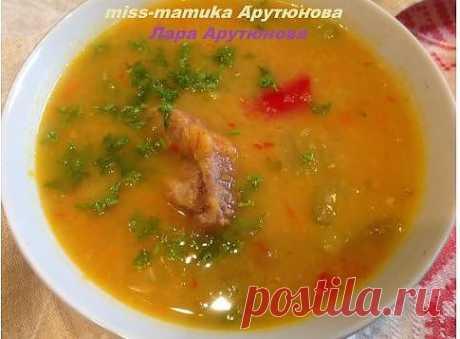 Чечевичный суп с овощами для здоровья и стройности