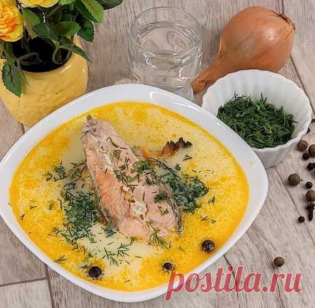Суп из СЁМГИ со сливками и плавленым сыром   Лесная кухня ЛавЛаки   Яндекс Дзен