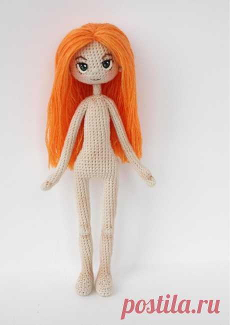 Фигурка куклы. Автор Светлана Удальчикова