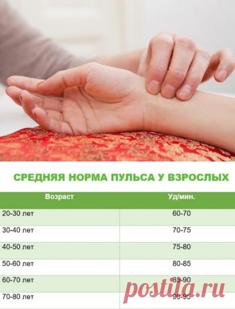Вот какой пульс считается нормальным, а какой — опасным для здоровья...