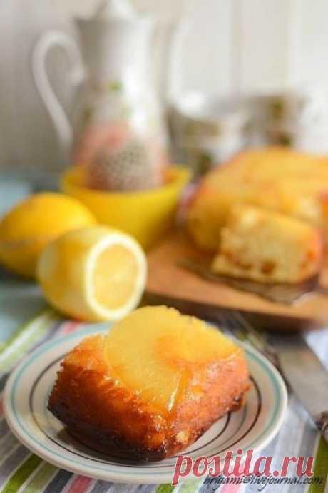 Пирог с консервированным ананасом | Шедевры кулинарии