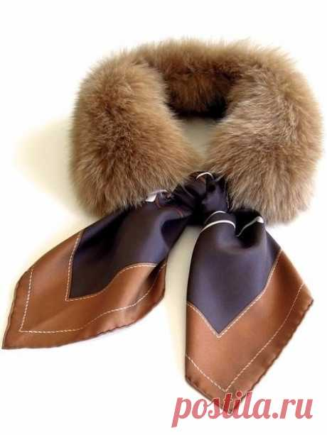 Idea of a removable fur collar