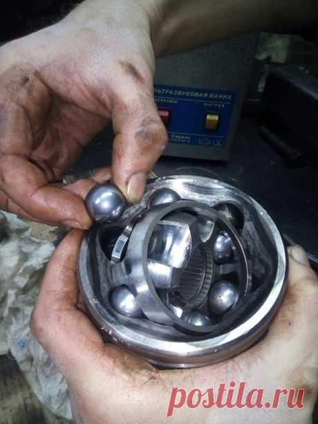 Как разобрать гранату (ШРУС) | Заметки автомеханика | Яндекс Дзен