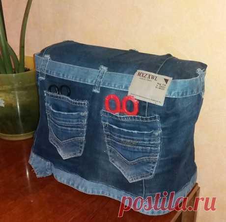 Что сделать из старых джинсов: 19 отличных идей — Мастер-классы на BurdaStyle.ru
