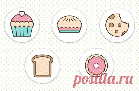 Иконки Женская кулинария, обложки для актуального в инстаграм, скачивайте на сайте instapik.