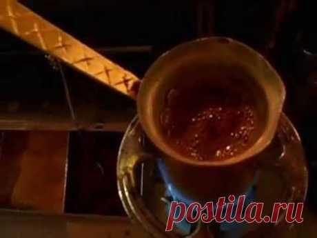 Как правильно варить кофе по-гречески.