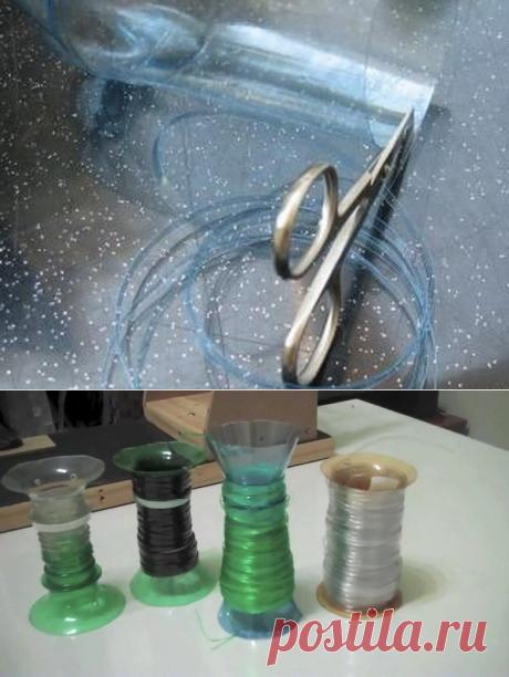 Прочная веревка из пластиковых бутылок