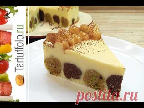 Торт БЕЗ ВЫПЕЧКИ со вкусом мороженого! МЕГА вкусный! Cake with ice cream flavor WITHOUT BAKING - YouTube
