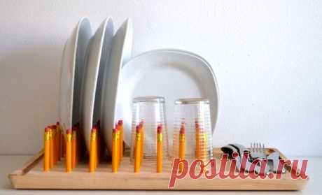 Мастер - класс как сделать сушилку - подставку для посуды своими руками