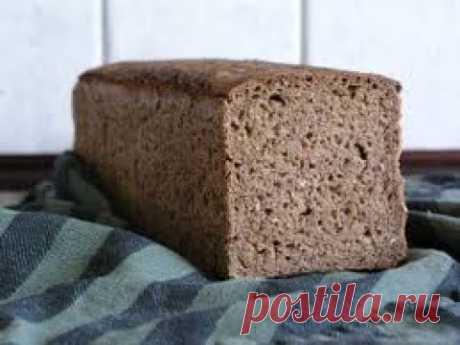 Домашний Хлеб На Хмелевой Закваске - YouTube