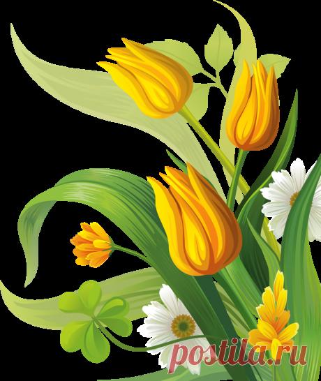 Весенний клипарт