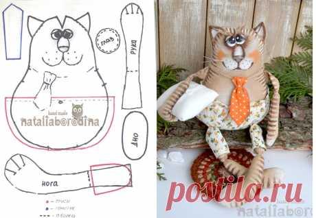 Товары для рукоделия, швейная фурнитура, ткани.  котик Натальи Бородиной
