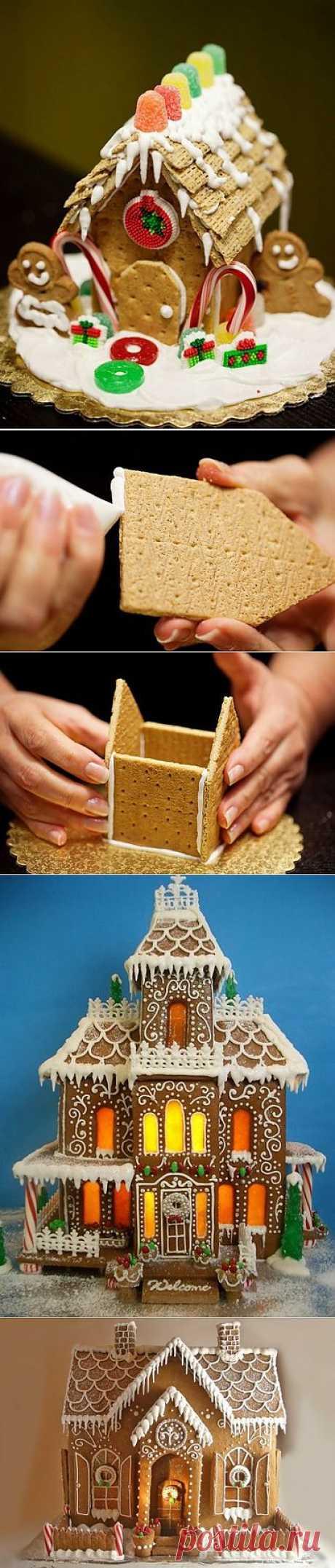 Como hacer la casita de las galletas