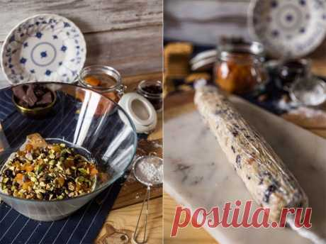 Белая шоколадная колбаса — Sloosh – кулинарные рецепты