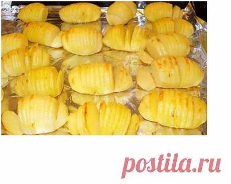 Las patatas adornadas en sueco