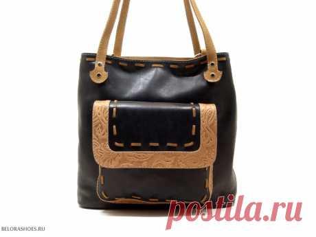 Сумка-рюкзак женская Трио 5 Удобная сумка из натуральной кожи с двумя независимыми отделениями и возможностью одевать как рюкзак
