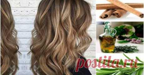 Вы будете удивлены, узнав, что розмарин и корица могут сделать для роста ваших волос