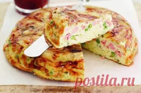 Пирог с колбасой на сковороде - Tabulo.ru - Онлайн-журнал - медиаплатформа МирТесен