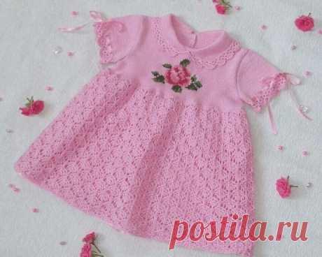 Узор для детского платья