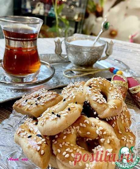Настоящее турецкое печенье (солёное) – кулинарный рецепт