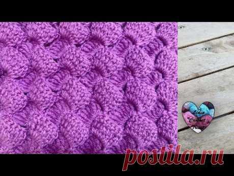 """Point Bulles 3D facile Crochet """"Lidia Crochet Tricot"""""""