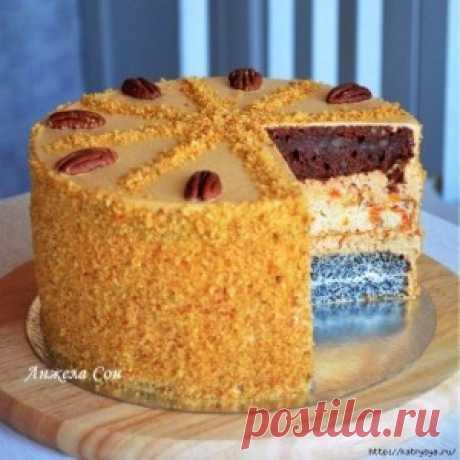 Торт «Дамский каприз»   Тут еда и лучшие рецепты