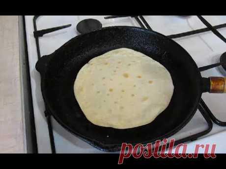 Хлеб без дрожжей - чапати (индийские лепешки)