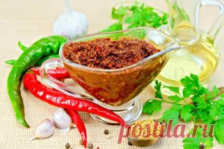 Рецепты аджики из овощей и фруктов: остро и вкусно! / аджика / 7dach.ru