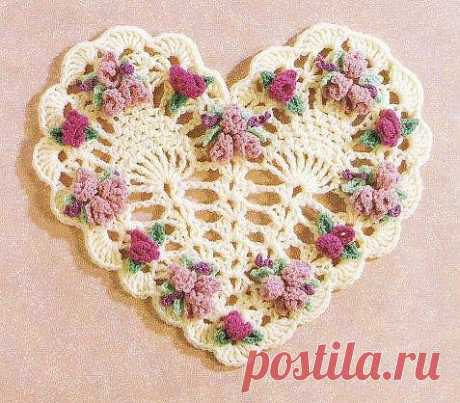 Вязаные сердечки к Дню святого Валентина