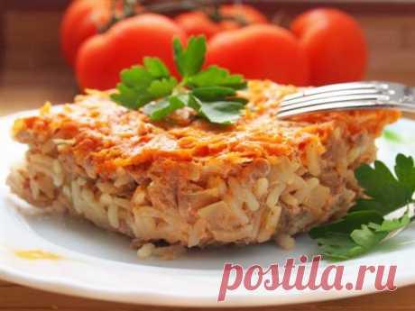Запеканка мясная с овощами ⋆ Хозяюшка