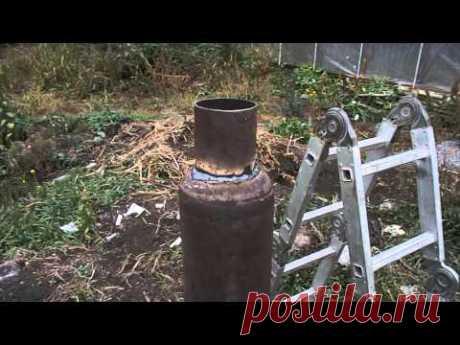 Ракетная печь - японская технология.