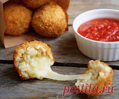Аранчини – 4 классических рецепта с фото пошагово (рисовые шарики)