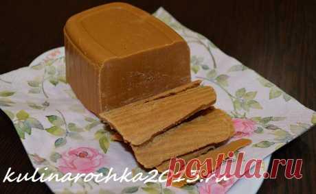 """Сыр """"Брюност"""" - Норвежский коричневый сыр ⋆ Готовим вкусно, красиво и по-домашнему!"""