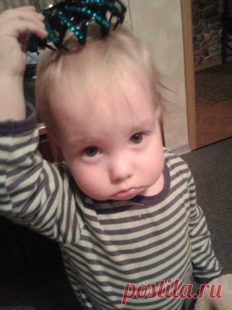 самый маленький внук:)