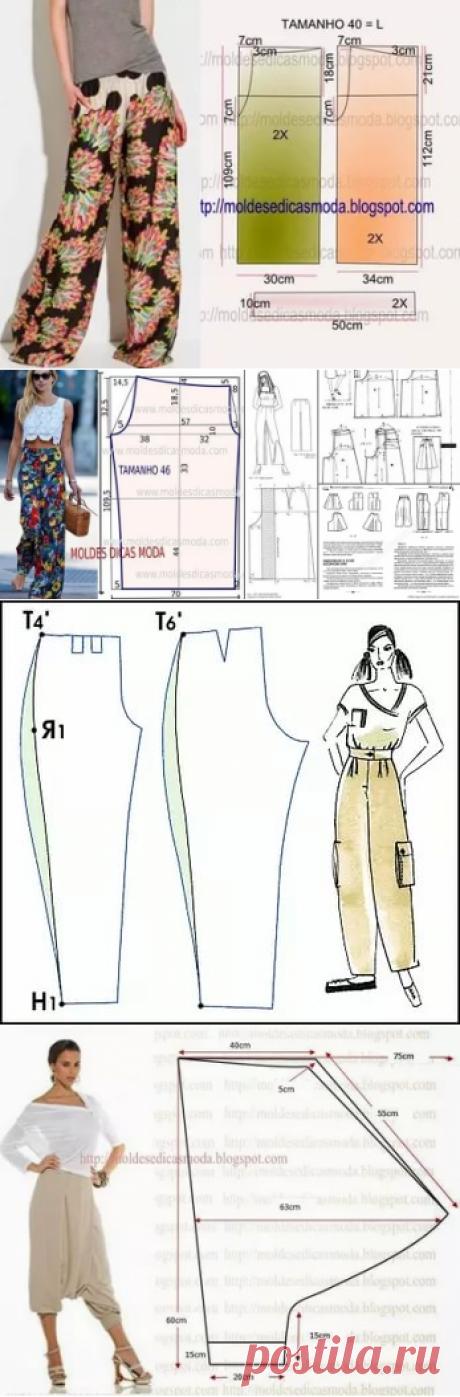 выкройка летних брюк для полных женщин: 11 тыс изображений найдено в Яндекс.Картинках