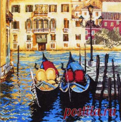 Вышивка «Venice» — HandMade