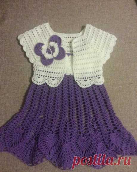 Diamond Dress. This Model is Beautiful to See. In this Yarn Crochet Model | Crochet Patterns