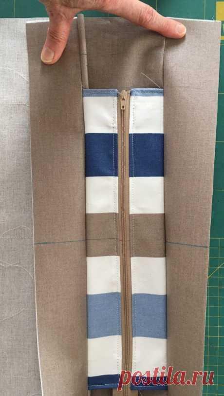 99470097 Deauville gestreifte zweifarbige Tasche mit Reißverschluss Octavie in Paris | Taschen nähen, Handtasche nähen schnittmuster und Laptoptasche nähen | www.маркетинг-онлайн.xyz