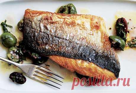 Готовим рыбу с хрустящей коркой как в ресторане