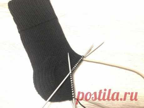 Мастер класс по вязанию носков спицами с описанием и фото для начинающих