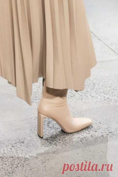 Тренды с показов: Модные модели обуви осень-зима 2020/21 – Часть 1