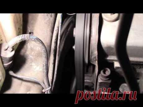 Как за 5 минут устранить сползание ремня ГРМ ВАЗ 2108-09-10 Калина