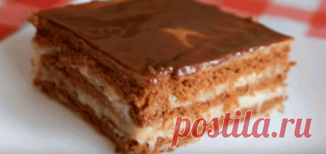 Торт без выпечки за 15 минут .
