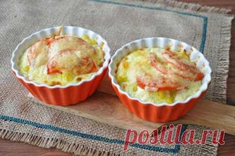 Как приготовить запеканка с цветной капустой для завтрака. - рецепт, ингредиенты и фотографии