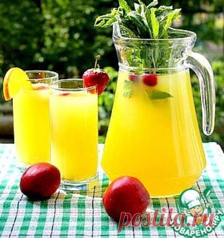 Цитрусовый напиток-конструктор - кулинарный рецепт