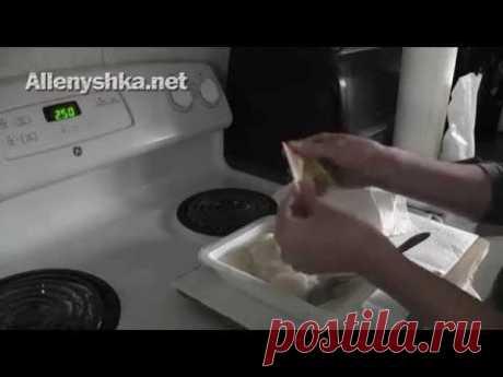 Как сделать клейстер для папье-маше из муки - YouTube