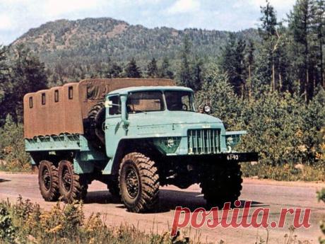 Армейские автомобили СССР с начала 60-х годов